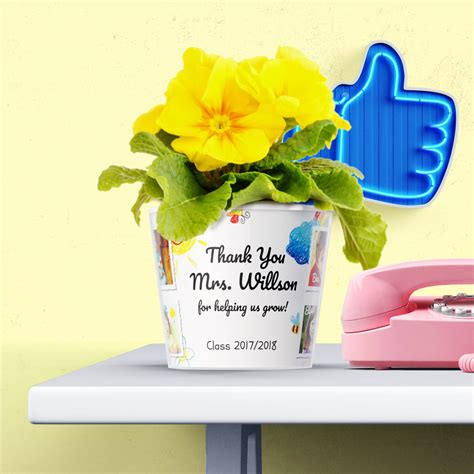 thank you kindergarten appreciation gift myfacepot 705 | Thank You Kindergarten 8 photos Kindergarten teacher appreciation flowerpot gift idea preschool