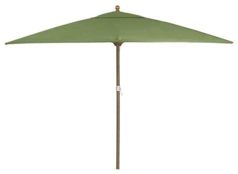 rectangular sunbrella cilantro umbrella with eucalyptus