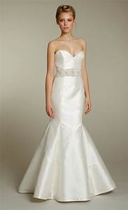 sleek ivory sweetheart mermaid wedding dress with With wedding dress sash