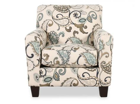 yvette steel accent chair mathis brothers furniture