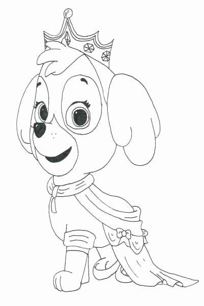 Zuma Paw Patrol Coloring Page Best Of Skye Coloring Pages