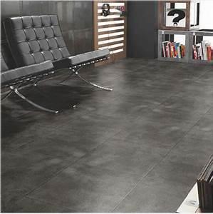 Carrelage Interieur Gris : carrelage gris clair ou anthracite on aime les deux ~ Melissatoandfro.com Idées de Décoration