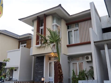 sukses mandiri teknik warna cat rumah rumah bagian depan