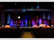 A Paper Christmas Church Stage Design Ideas