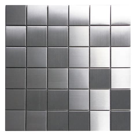 stainless steel mosaic tile 2x2 subway tile outlet