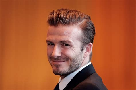 david beckham hairstyle wallpapers images  pictures
