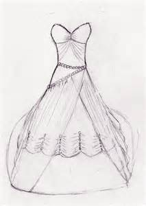 Drawing Wedding Dress