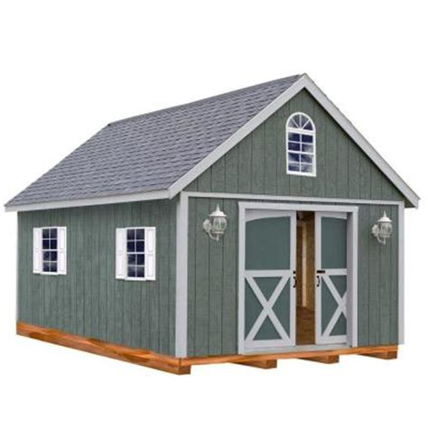 best barns belmont 12 ft x 24 ft wood storage shed kit