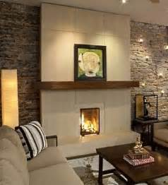 Contemporary stone fireplace designs crowdbuild for for Contemporary stone fireplace designs