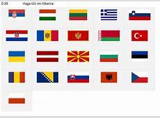 Banderas de Europa Banderas de Europa del Este Seterra