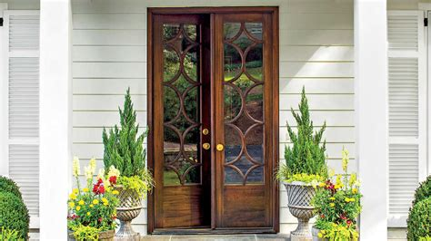 southern front doors stylish looks for front entry doors southern living
