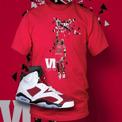 Air Jordan 6 u0026quot;Carmineu0026quot; Apparel At Sneaker Outfits | SneakerFiles