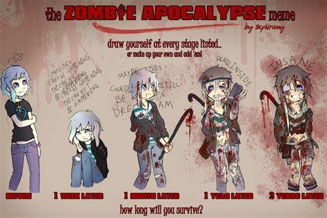 Zombie Apocalypse Meme - zombie apocalypse meme by lumipop on deviantart