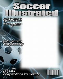 Blank Plaque Template Soccer Photo Templates
