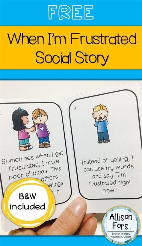 free behavior social story language galore 975 | 6ac7b39c30e0f263454c37ace9b09333 frustration kids social story autism
