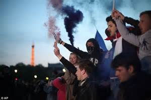 Paris riots: Protestors clash with police as France ...