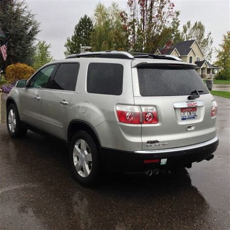 sell   gmc acadia slt sport utility  door