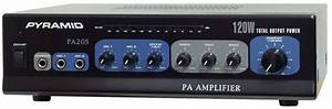 Pyramid - Pa205 - Sound And Recording - Amplifiers