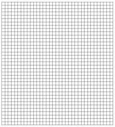 Math Graph Paper Template