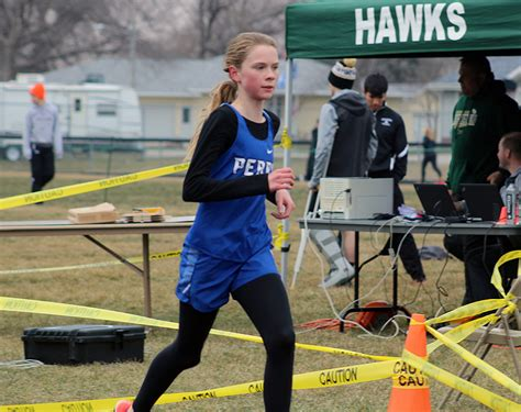 perry track teams visit carroll  conference meet