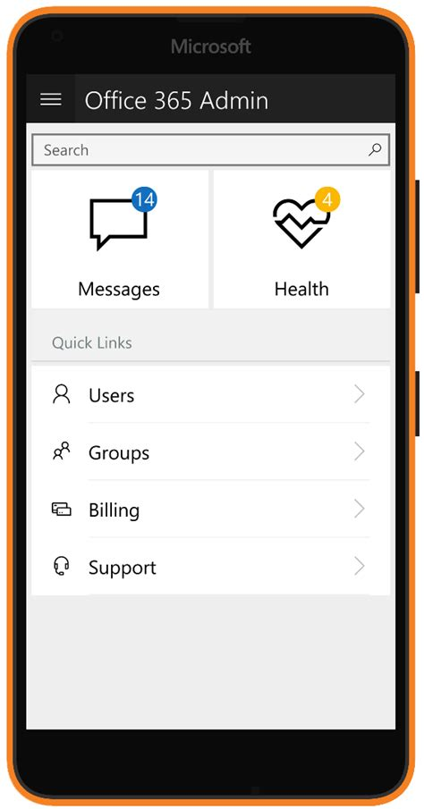 office 365 admin app update ushers in new design and features