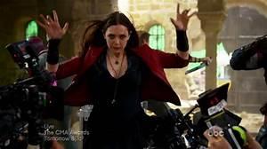Image Scarlet Witch BTS 1jpg Marvel Cinematic