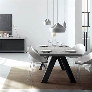 Table A Manger Beton : table manger design apex aspect b ton cir atylia prix promo table manger atylia 639 00 ~ Teatrodelosmanantiales.com Idées de Décoration
