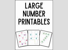 Large Printable Numbers Printable 360 Degree