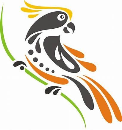 Vektor Burung Kakatua Gambar Bird Lambang Indonesia