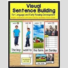 Autism And Special Education Visual Sentence Building For Early Readers  Early Readers, Special