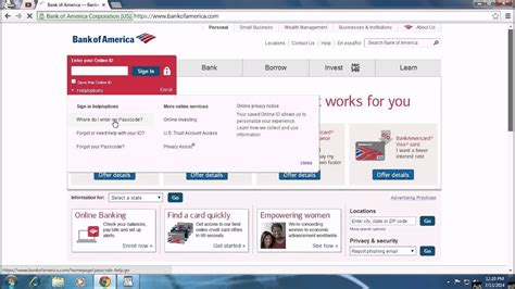 Bank Of America Account Recovery
