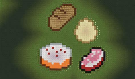 cuisine minecraft minecraft food pixel kaunas map picture