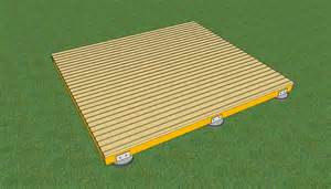 freestanding wood deck how to build a deck on the ground