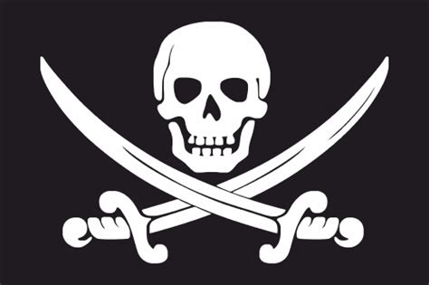Drapeauxflags  Pirate (crane & Sabres