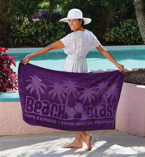 jewel collection colored beach towel pro towels