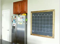 Chalkboard Calendar 23 DIYs Guide Patterns