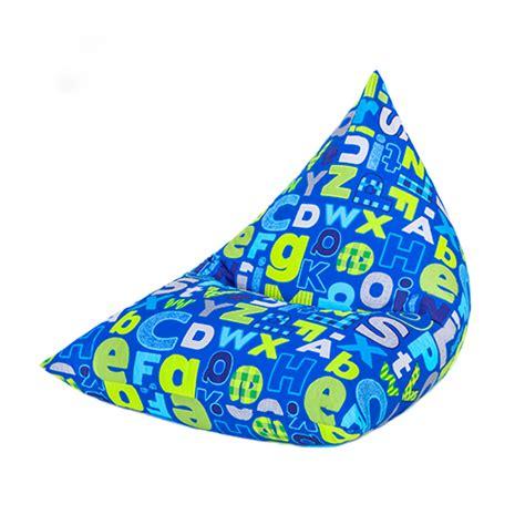 children s pyramid shape bean bag chair gaming large