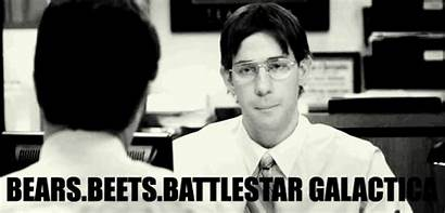 Dwight Jim Beets Office Schrute Battlestar Quotes