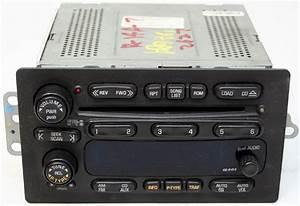 2001-2002 Gmc Savana Van Factory Stereo 6 Disc Changer Cd Player Oem Radio