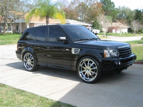 Land Rover Range Rover Sport Modification by Giokobe44 2006 Land Rover Range Rover Sport Specs Photos