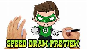 Green Lantern | Justice League Drawing Lesson Preview ...