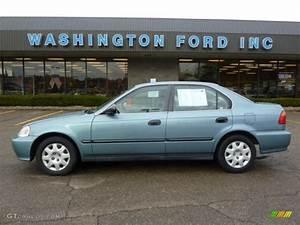 1999 Honda Civic : 1999 iced teal pearl honda civic lx sedan 40410464 photo 11 car color galleries ~ Medecine-chirurgie-esthetiques.com Avis de Voitures