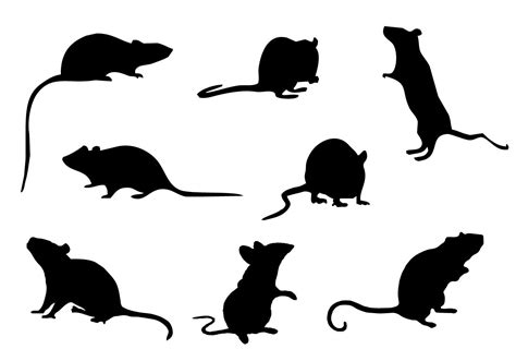 Mouse Silhouette Template - Costumepartyrun