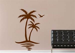 palm tree landscape wall stickers adhesive wall sticker With kitchen colors with white cabinets with palm tree wall sticker