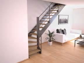Re Escalier Metal Design by Acheter Un Escalier Quart Tournant En M 233 Tal Stairkaze