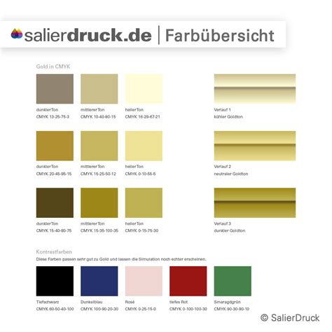Was Passt Zu Gold by The Gallery For Gt Gold Color Swatch Cmyk