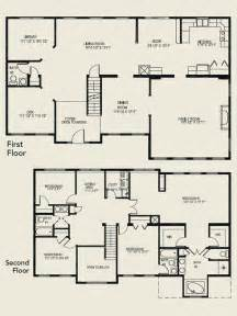 two story house floor plans two story house plans