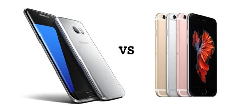 iphone vs samsung samsung galaxy s7 outselling the iphone 6s in the united