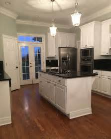 subtle blue gray paint color my kitchen color sherwin williams silver strand