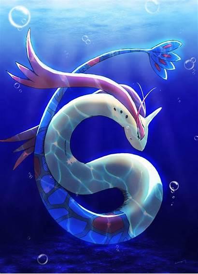 Milotic Pokemon Zerochan Wallpapers Ocean Pokemon Pixiv